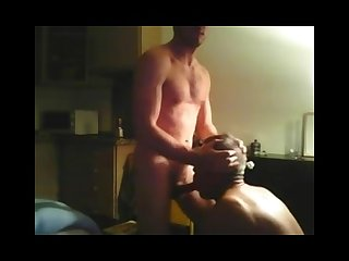 Young guy older guy oral