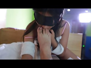 Blindfolded sex play 6
