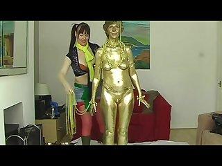 Sara the golden lady