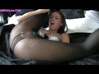 Pantyhose tease 03