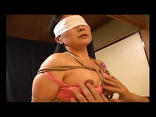 Bondage asian three girl