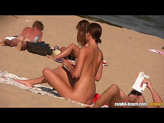 Sexy nudist couples beach voyeur hidden cam hd video