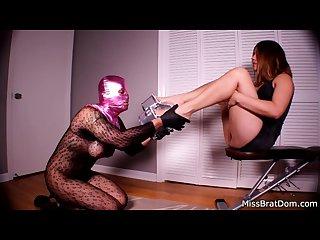 Sissy please femdom foot domination