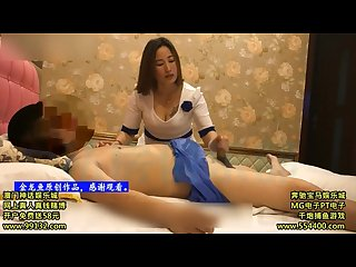 Chinese Homemade Footjob Massage