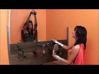 Wonder woman vs poison ivy Tickling