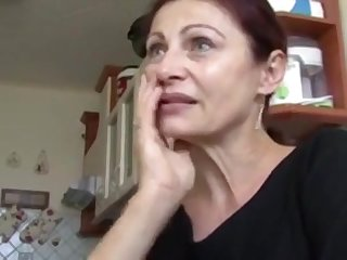 My friendly mom blowjob