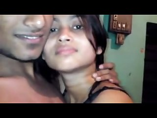 Indian Recording his beautiful girlfriend no sex