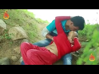 Indian girl boobs pressing in public