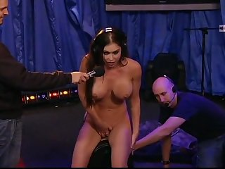 Jessica jaymes orgasms on the sybian howard stern show