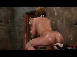 Amy brooke has her amazing gaping ass fucked hooked