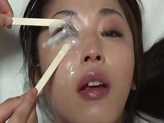 Cum in open eye