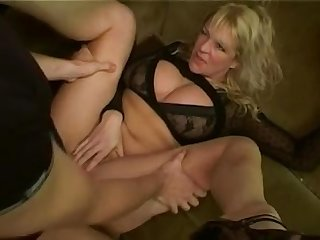 British blonde slag starr gets a seeing to