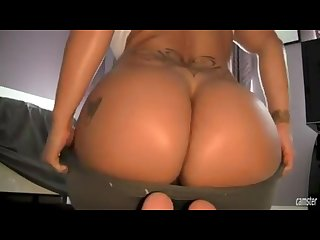 Sexy latina yoga masturbation