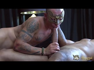 Masquerade men Mike mann tony ray
