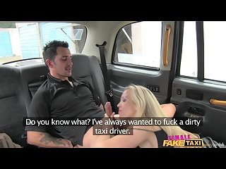 Femalefaketaxi dirty driver gargles coppers cum