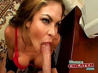 Hunter bryce deepthroat cum in mouth
