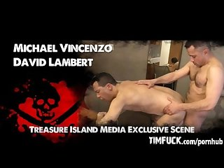 Michael vincenzo S first bareback scene