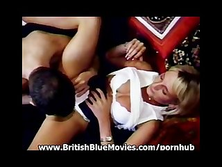 Brtish Retro anal hardcore with georgette neale and dick nasty