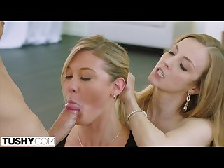 Tushy boss lady tests her assistant s anal limits