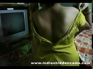 Desi maid with boy friend