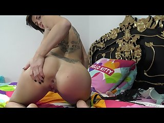 Horny brunette love anal sex and squirt brune coquine et femme fontaine