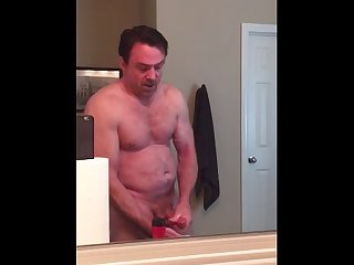 Daddy talks dirty and cums
