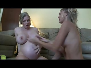 The mother of love brignet have big bood and some must milk