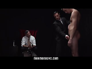MormonBoyz- Naughty Mormon boy punished with dildos
