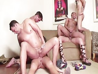 Transsexual swingers 5 scene 2