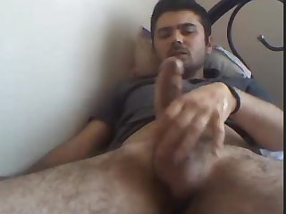 Turkish big dick cums big load