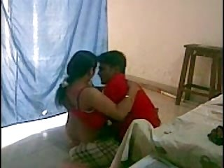 Indian bhabi having a quickie with devar