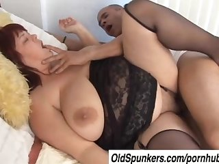 Beautiful big tits mature bbw josie is a hot fuck
