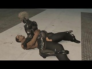 Metal gear solid gay porn animation