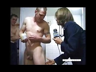Locker room interview