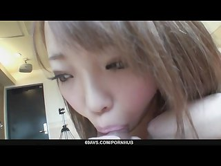 Horny nana asano fucks until she creampied