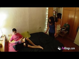 Mom and son enjoy time together i www hornyfamily online i