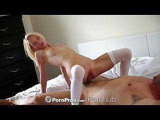 Pornpros petite blonde sammie daniels breaks out her sex toys