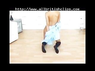 Jo guest in school uniform stripping british euro brit european cumshots sw