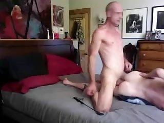 Big cock daddy breeds twink