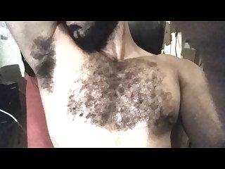 My hairy and smelly armpits sobaco peludo de macho