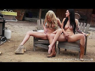 Wicked two country girls learn how to get along