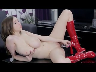 Super big tit girl play with herself fucking hot