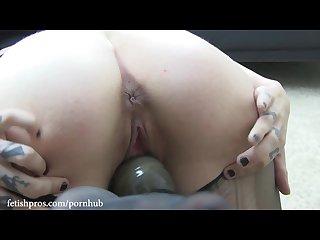 Missy minks dommes krysta kaos belt bondage Hitachi