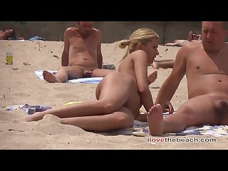 Exquisite random girls on the Nudist beach sunbathing nudebeach bb15037 15