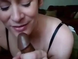Hot milf will suck bbc anytime