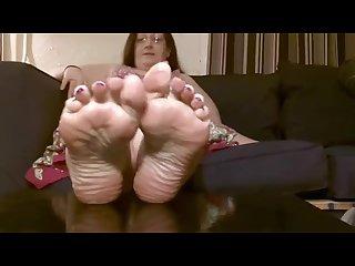 Mature bbw soles