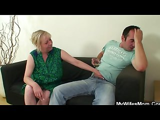 Cock hungry mother in law seduces him