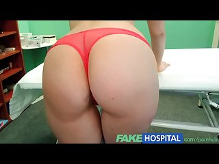 Fakehospital successful consultation as hot blonde moans her way through