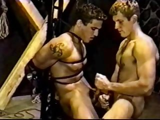Hgtv reality star michael verdugo in gay bdsm vid great cumshot