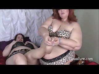 Jezebel jolie undresses pregnant eliza allure